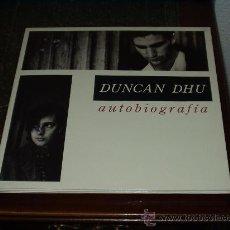Discos de vinilo: DUNCAN DHU LP DOBLE AUTOBIOGRAFIA. Lote 102728762