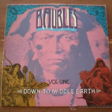 Discos de vinilo: BAUBLES VOLUME ONE - DOWN TO MIDDLE EARTH - (UK-BEAT BEAT) THE SONICS, ILL WIND,...- GARAGE PSYCH LP. Lote 22028917