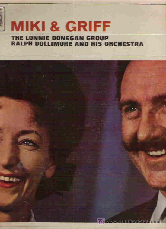 MIKI & GRIFF - THE LONNIE DONEGAN GROUP - RALPH DOLLIMORE AND HIS ORCHESTRA ** LP 1961 ENGLAND (Música - Discos - LP Vinilo - Orquestas)