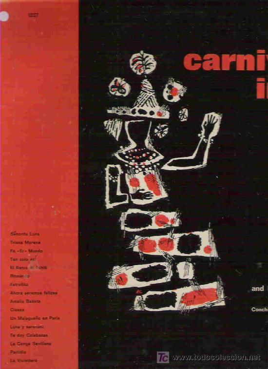 CARNAVAL EN RIO - CANTA EN ESPAÑOL ALMINANA SOLER AND HIS TROPICANA ORCHESTRA - 1962 UK (Música - Discos - LP Vinilo - Orquestas)