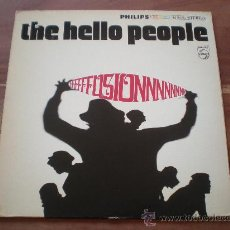 Discos de vinilo: HELLO PEOPLE - FUSION - (USA-PHILIPS-1968) ROCK PSYCH LP. Lote 22752562