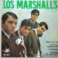 Discos de vinilo: LOS MARSHALLS - CANSADO DE ESPERARTE ** KINKS COVER ** EP 1965 SPANISH FREAKBEAT *. Lote 18710413