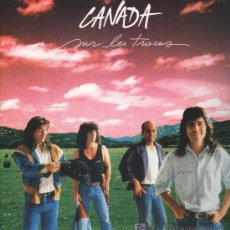 Discos de vinilo: CANADA - SUR LES TRACES - LP 1988 - COMO NUEVO. Lote 17625075