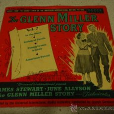 Discos de vinilo: THE UNIVERSAL-INTERNATIONAL ORCHESTRA ?– THE GLENN MILLER STORY VOL.2, 1954 EP DECCA. Lote 17532753