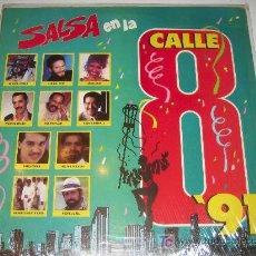 Discos de vinilo: SALSA EN LA CALLE 8 - CELIA CRUZ. EL GRAN COMBO ... . Lote 17536424