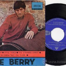 Discos de vinilo: DAVE BERRY EP THIS STRANGE EFFECT+3 R&B SPAIN. Lote 26273824