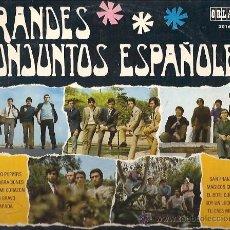 Discos de vinilo: GRANDES CONJUNTOS ESPAÑOLES 10¨ (25 CTMS.) DEL SELLO ORLADOR AÑO 1958 LOS TONKS, LOS SALVAJES.... Lote 17569063
