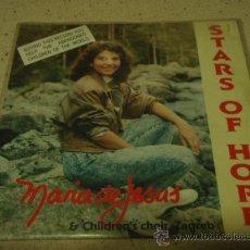 Discos de vinilo: MARIA DE JESUS & CHILDREN'S CHOIR ZAGREB ( STARS OF HOPE 2 VERSIONES ) 1988-SWEDEN SINGLE45 . Lote 17572149