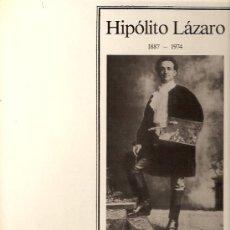 Discos de vinilo: HIPOLITO LAZARO LP SELLO COURT EDITADO EN AUSTRIA. . Lote 17614442