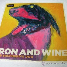 Discos de vinilo: LP IRON AND WINE THE SHEPHERD´S DOG NEW FOLK VINILO. Lote 17623548