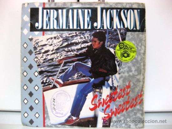 JERMAINE JACKSON - SINGLE - SWEETEST SWEETEST - ARISTA 1984 BPY (Música - Discos - Singles Vinilo - Funk, Soul y Black Music)