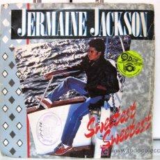 Discos de vinilo: JERMAINE JACKSON - SINGLE - SWEETEST SWEETEST - ARISTA 1984 BPY. Lote 17623800