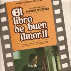 Discos de vinilo: LP BANDA SONORA EL LIBRO DEL BUEN AMOR 2 - MUSICA DE RAMON ARCUSA . Lote 17641188