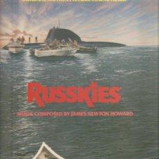 Discos de vinilo: LP RUSSKIES - BANDA SONORA DE JAMES NEWTON HOWARD . Lote 23306739