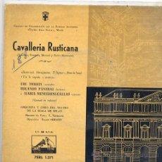 Discos de vinilo: CAVALLERIA RUSTICANA - EBE TICOZZI (EP LA VOZ DE SU AMO 7 ERL 1271). Lote 17664540