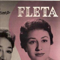 Discos de vinilo: ELIA Y PALOMA FLETA LP SELLO MONTILLA EDITADO EN USA.. Lote 17665951