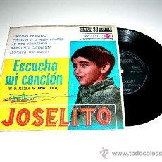 Discos de vinilo: JOSELITO. ESCUCHA MI CANCIÓN. VIOLINO TZIGANO, MI TITO FERNANDO...LPC-3097 RCA, AÑO 1961.. Lote 17669022