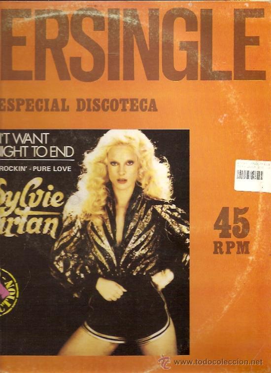SYLVIE VARTAN MAXI-SINGLE SELLO RCA EDITADO EN ESPAÑA AÑO 1979 (Música - Discos de Vinilo - Maxi Singles - Canción Francesa e Italiana)