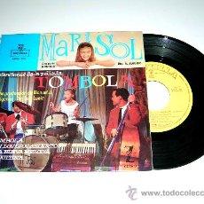 Discos de vinilo: MARISOL. TÓMBOLA, CON LOS OJOS ABIERTOS, CHIQUITINA...MONTILLA EPFM-223, AÑO 1962.. Lote 17669285