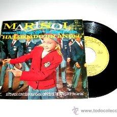 Discos de vinilo: MARISOL. HA LLEGADO UN ÁNGEL, ESTANDO CONTIGO, RUMBITA...MONTILLA EPFM-189, AÑO 1960.. Lote 17669319