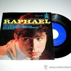 Discos de vinilo: RAPHAEL, UN LARGO CAMINO, ELLOS DOS, CON LAS MANOS ABIERTAS.... HISPAVOX HH 17-294, AÑO 1964.. Lote 19477461