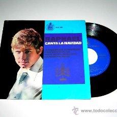 Discos de vinilo: RAPHAEL, CANTA LA NAVIDAD, TAMBORILERO, NOCHE DE PAZ.... HISPAVOX HH 17-339, AÑO 1965.. Lote 17669921