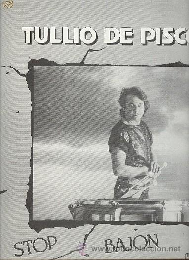 TULIO DE PISCOPO MAXI LP STOP BAJON (Música - Discos de Vinilo - Maxi Singles - Pop - Rock - New Wave Extranjero de los 80)