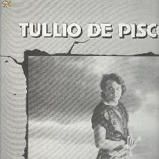 Discos de vinilo: TULIO DE PISCOPO MAXI LP STOP BAJON. Lote 26936597