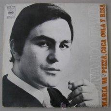 Discos de vinilo: LEONARDO FAVIO - MARÍA VA - SINGLE 1971 . Lote 17708261