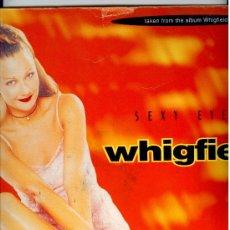 Discos de vinilo: WHIGFIELD - MAXI VINILO - SEXY EYES - UNO DE LOS MAXIS DANCE MÁS BUSCADOS!!!. Lote 48668326