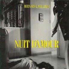 Discos de vinilo: BERNARD LAVILLIERS LP DOBLE NUIT D'AMOUR ED. FRANCESA 1981 QUE CONTIENE 2 VINILOS. Lote 25734640