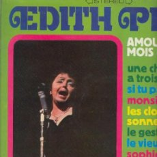 Discos de vinilo: EDITH PIAF LP AMOUR DU MOIS DE MAI. Lote 26451333