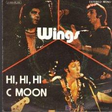 Discos de vinilo: SINGLE - WINGS - HI, HI, HI. Lote 18351785