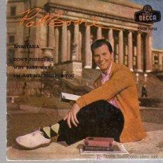 Discos de vinilo: SINGLE - PAT BOONE - ANASTASIA.... Lote 18351713
