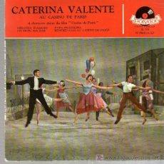Discos de vinilo: SINGLE - CATERINA VALENTE - MELODIA D'AMORE.... Lote 17753556