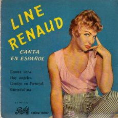Discos de vinilo: SINGLE - LINE RANAUD - BUONA SERA.... Lote 17758694
