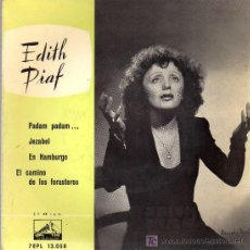 Discos de vinilo: SINGLE - EDITH PIAF - PADAM, PADAM .... Lote 22317028