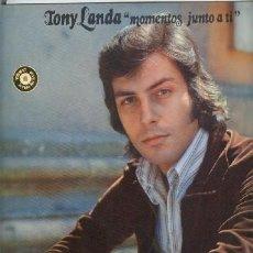 Discos de vinilo: TONY LANDA LP MOMENTOS JUNTO A TI. Lote 26451342