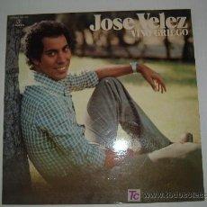 Discos de vinilo: DISCO LP VINILO DE JOSE VELEZ VINO GRIEGO SU EXITO AMERICANO . Lote 26379737