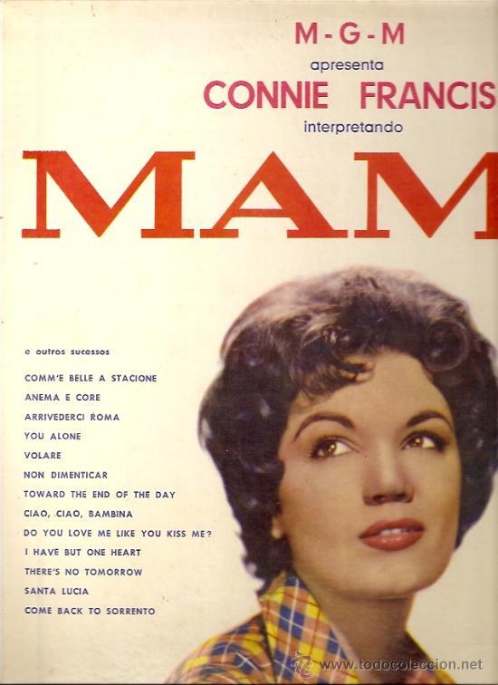 CONNIE FRANCIS LP SELLO MGM EDITADO EN BRASIL