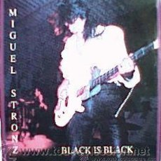 Discos de vinilo: MIGUEL STRONZ - MAXI VINILO - BLACK IS BLACK - PRECINTADO!!. Lote 36147024
