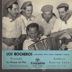 Discos de vinilo: SINGLE - LOS BOCHEROS - GRANADA ..... Lote 27109258