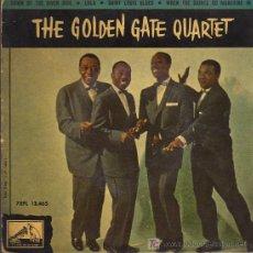 Discos de vinilo: SINGLE - THE GOLDEN GATE QUARTET - DOWN BY THE RIVER SIDE ..... Lote 20255035