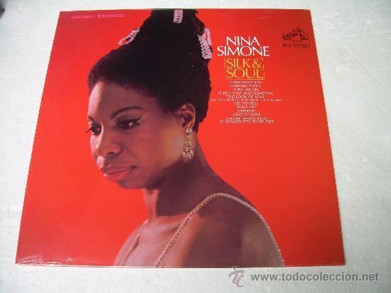 LP NINA SIMONE SILK & SOUL (Música - Discos - LP Vinilo - Funk, Soul y Black Music)