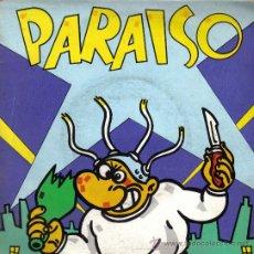 Discos de vinilo: PARAISO-MAKOKI + EN LA MORGUE + YA AL FINAL (CAROLINA) + LIPSTICK EP 1983 SPAIN. Lote 21370693