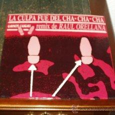Discos de vinilo: GABINETE CALIGARI MAXI LA CULPA FUE DEL CHA, CHA ,CHA. Lote 17824877
