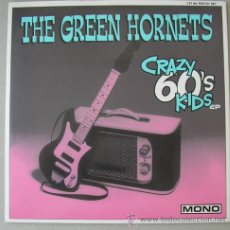 Discos de vinilo: THE GREEN HORNETS - CRAZY 60´S KIDS - EP MOUTHY RECORDS 1998. Lote 17839790