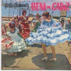 Discos de vinilo: BENI DE CADIZ,MADRINA DEL 62. Lote 17844400