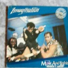 Discos de vinilo: IMAGINATION-MUSICA Y LUCES-MX 45RPM-1982. Lote 17963772
