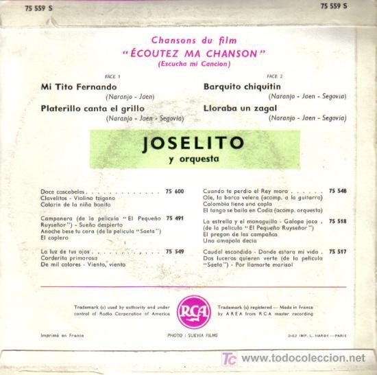 Discos de vinilo: contraportada - Foto 2 - 26758634